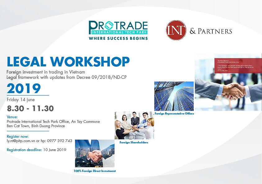 Legal workshop - Foreign investment in trading in Vietnam